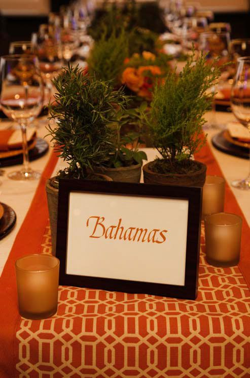 Wedding Table Numbers Number Holders Reception Decorations