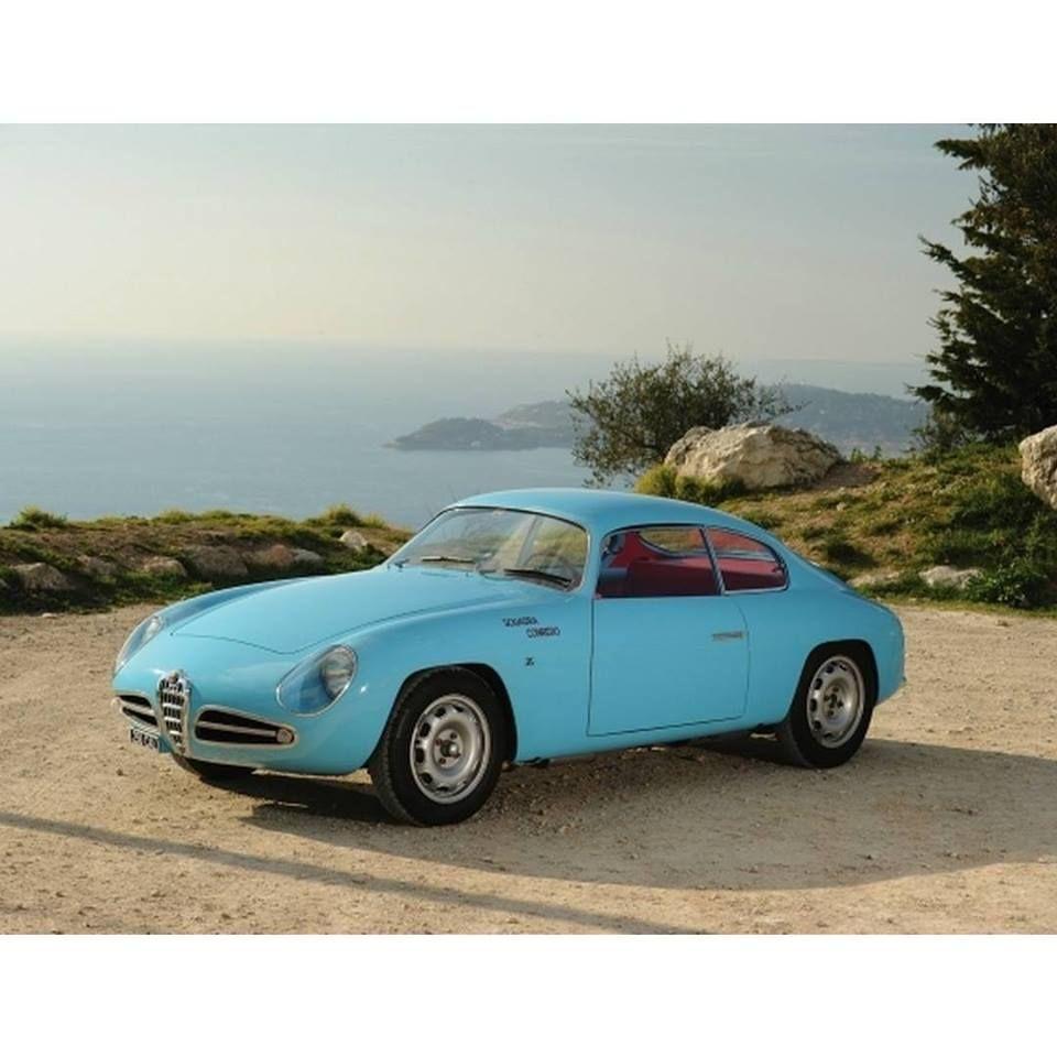 1958, Alfa Romeo Giulietta Sprint Veloce Zagato
