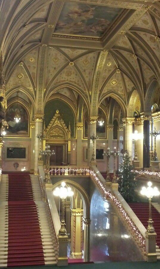 Budapest - interno del Parlamento
