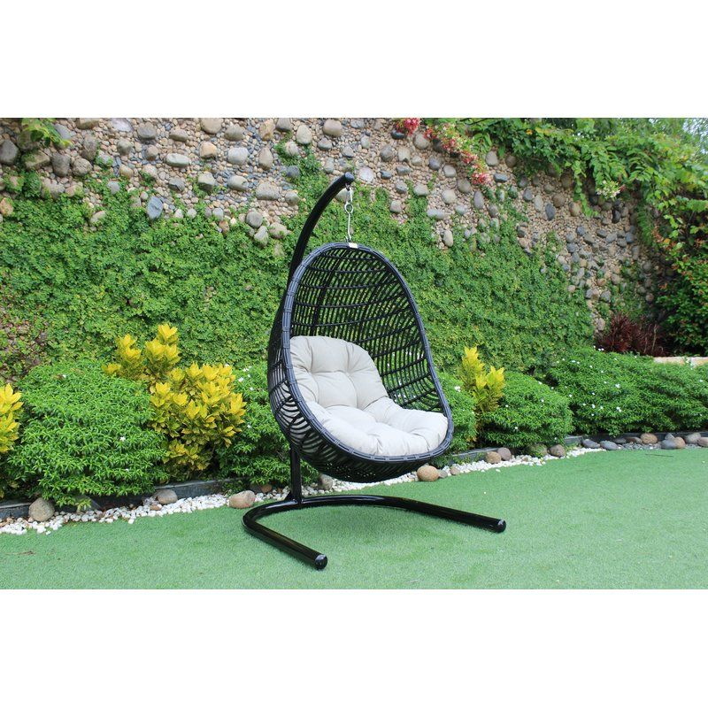 Esquivel Solid Outdoor Swing Chair Swinging chair
