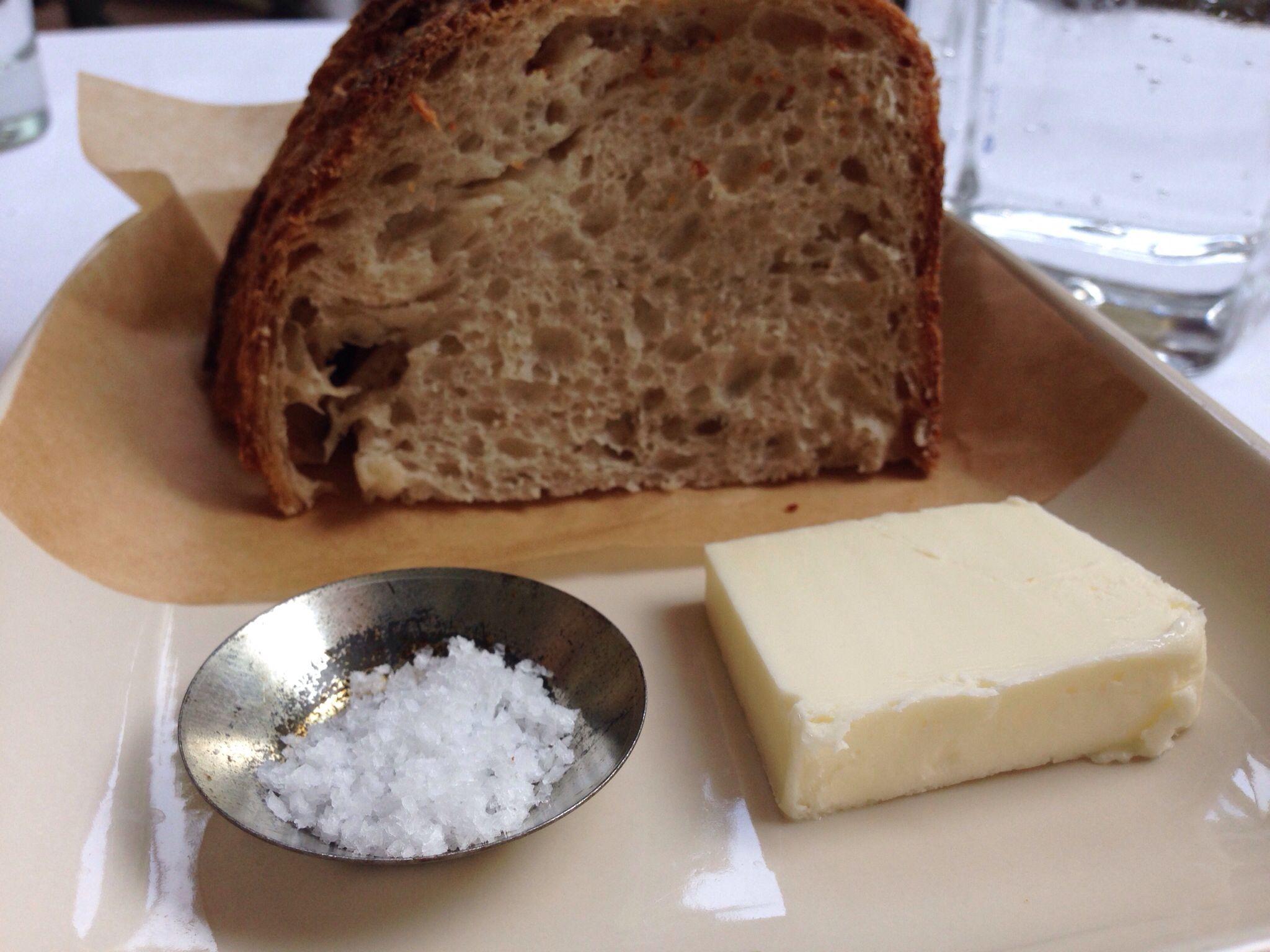 salt butter sourdough