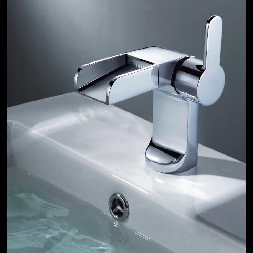 Mitigeur lavabo cascade fontaine Elio Robinetterie As de