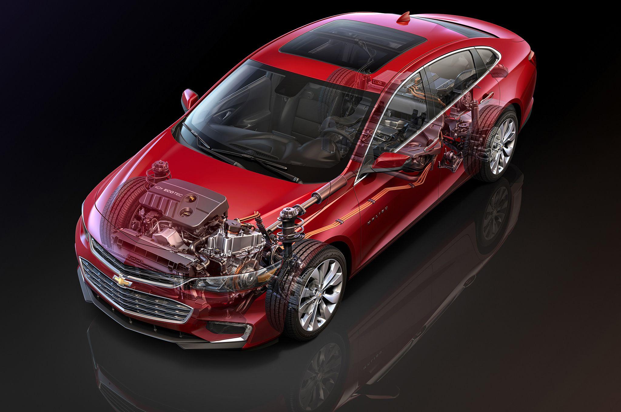 2016 Chevrolet Malibu Hybrid Returns 46 Mpg Chevrolet Malibu
