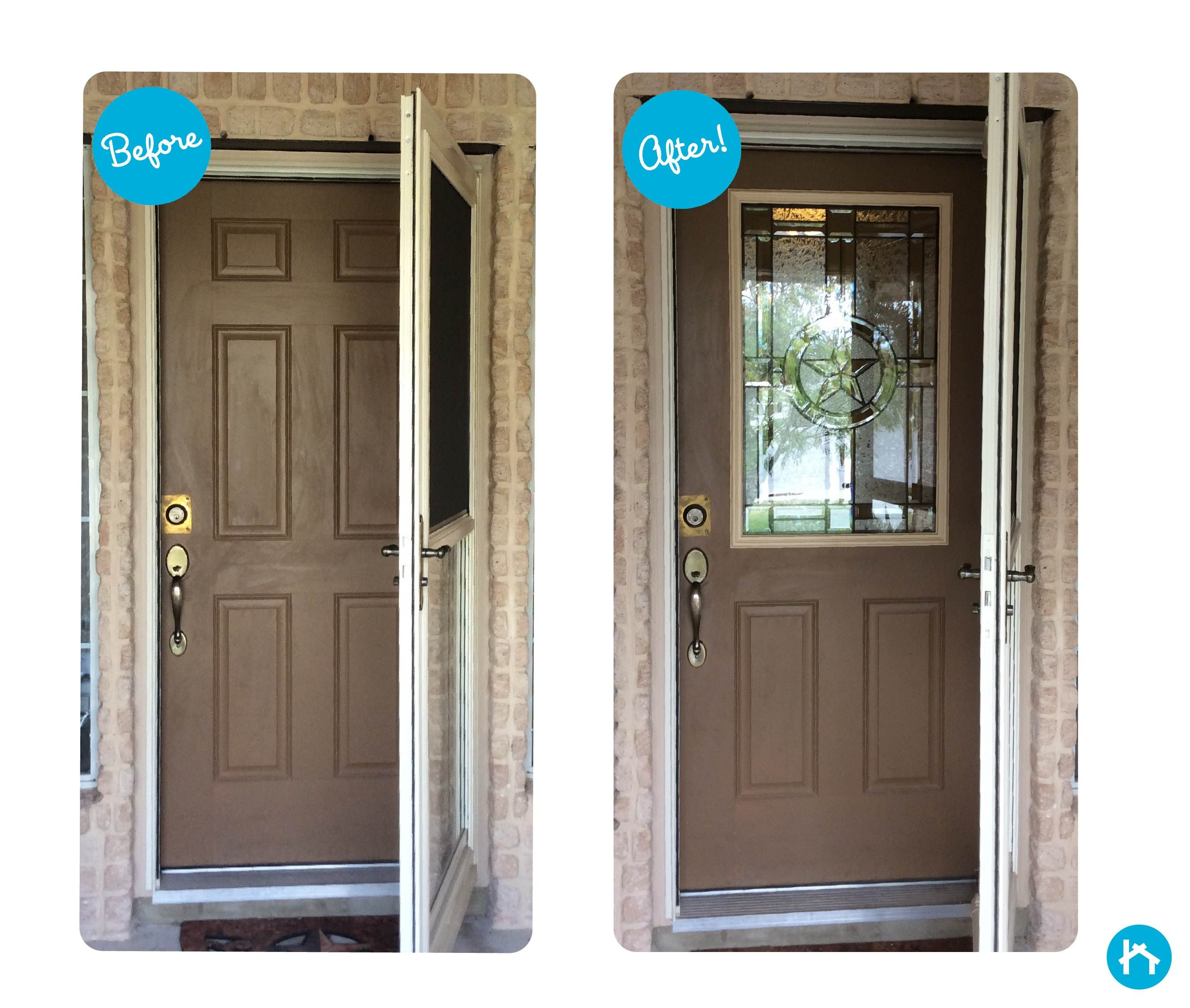 Transform Your Door With Decorative Door Glass Add Or Replace Your