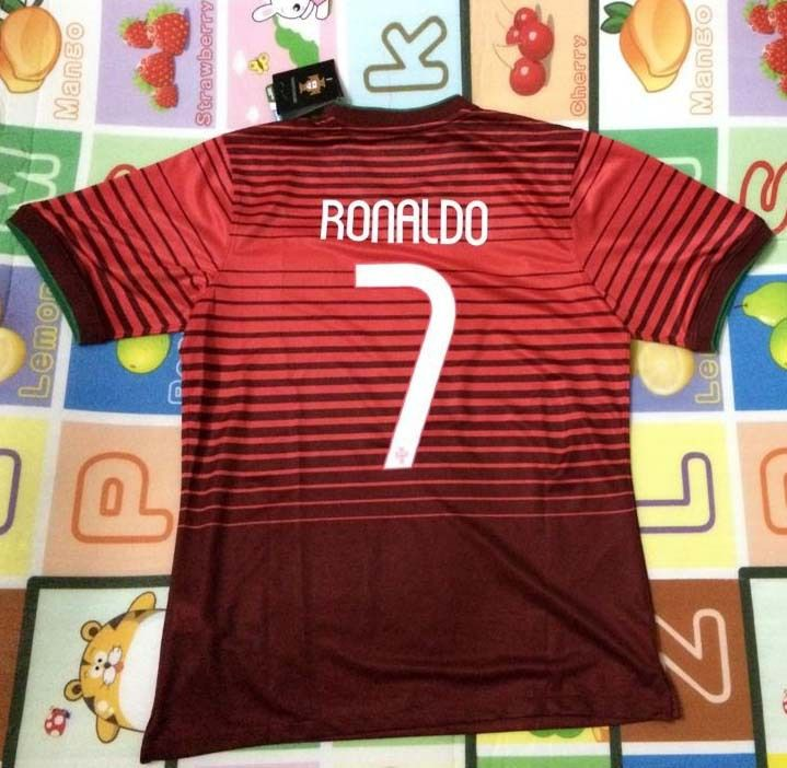 Free shipping New arrival Portugal  7 RONALDO 2014 world cup home jersey  soccer jerseys top thai 3A+++ quality football uniforms  18.80 e9f213ac9