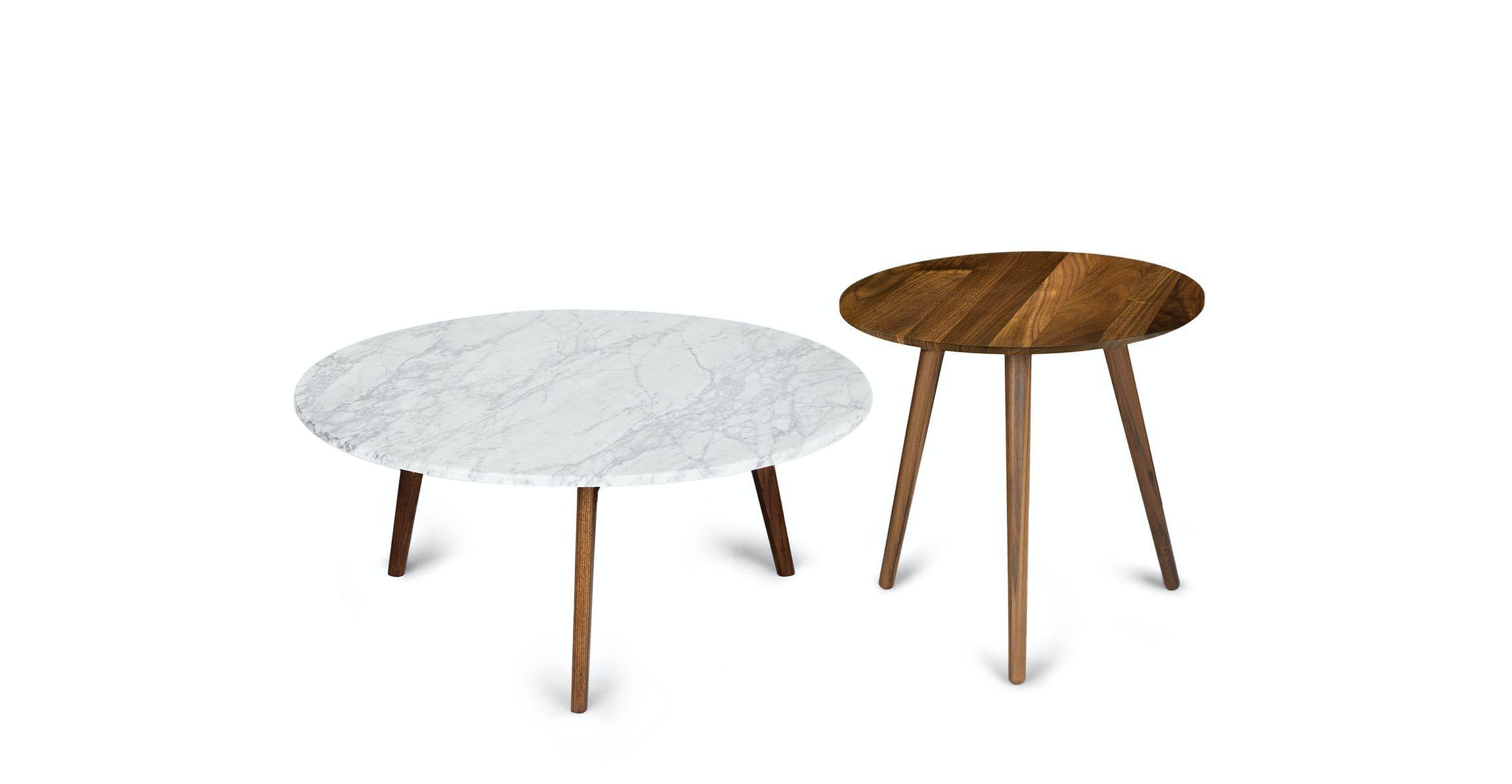 Mara Walnut Coffee Table In 2021 Mid Century Modern Coffee Table Coffee Table Walnut Side Tables [ 1196 x 2304 Pixel ]