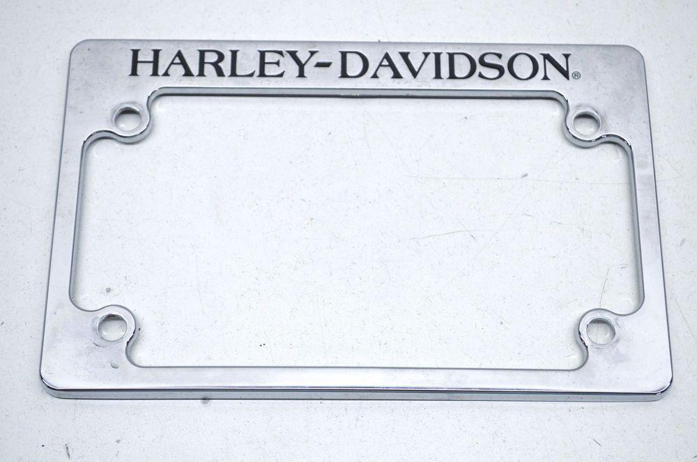 Harley Davidson Motorcycle License Plate Frame Ebay Motors Parts Amp Accessories M Motorcycle License Plate Frame Motorcycle License License Plate Frames
