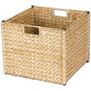 Home Cube Storage Baskets Leaf Storage Wicker Storage Bins