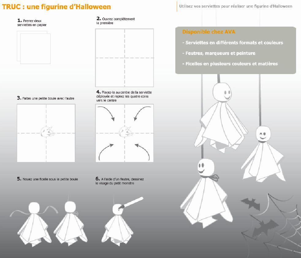Fabriquer Un Fantome Halloween