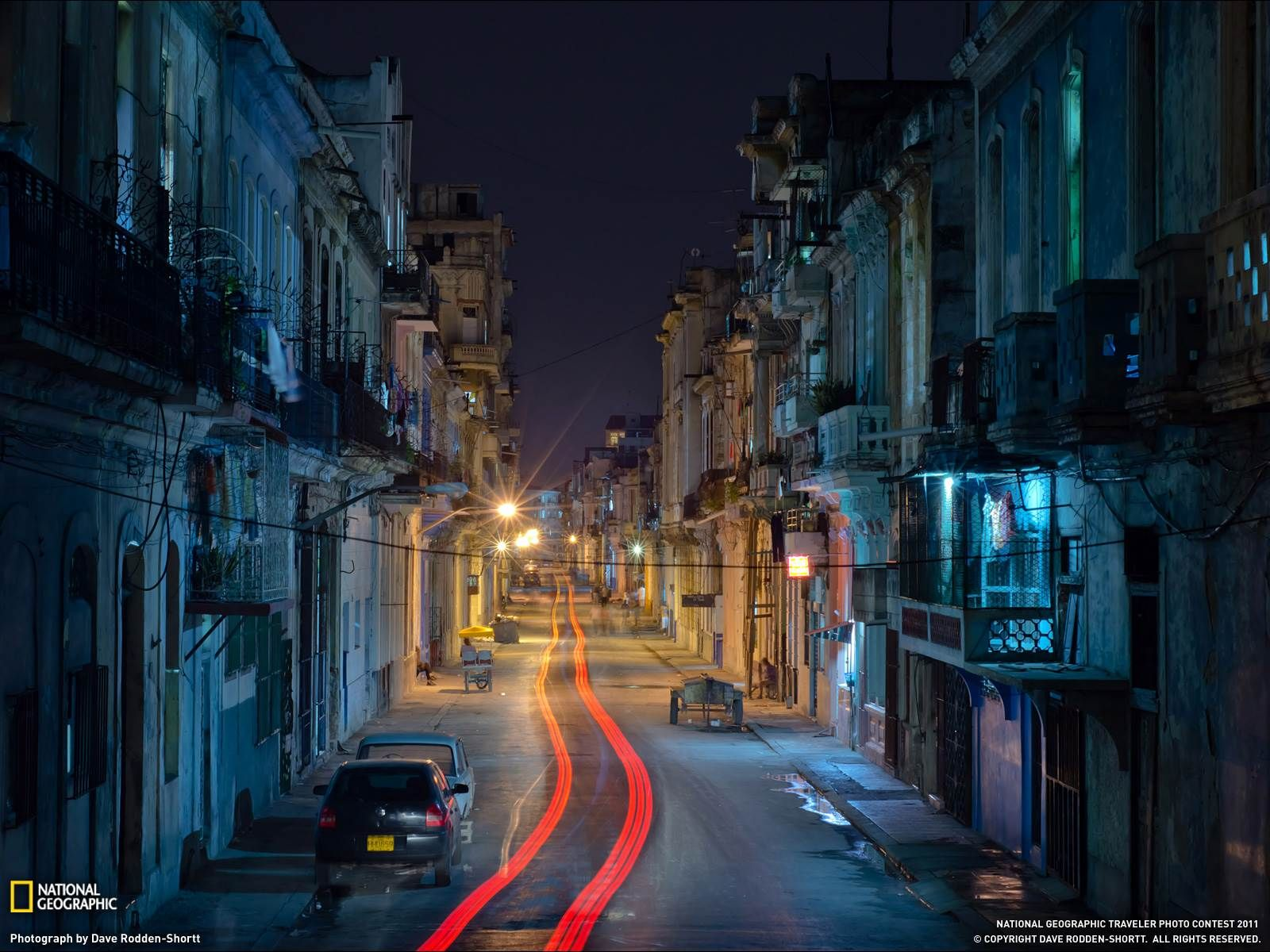 Обои куба, havana, ночь, Old Havana, Гавана. Города foto 7