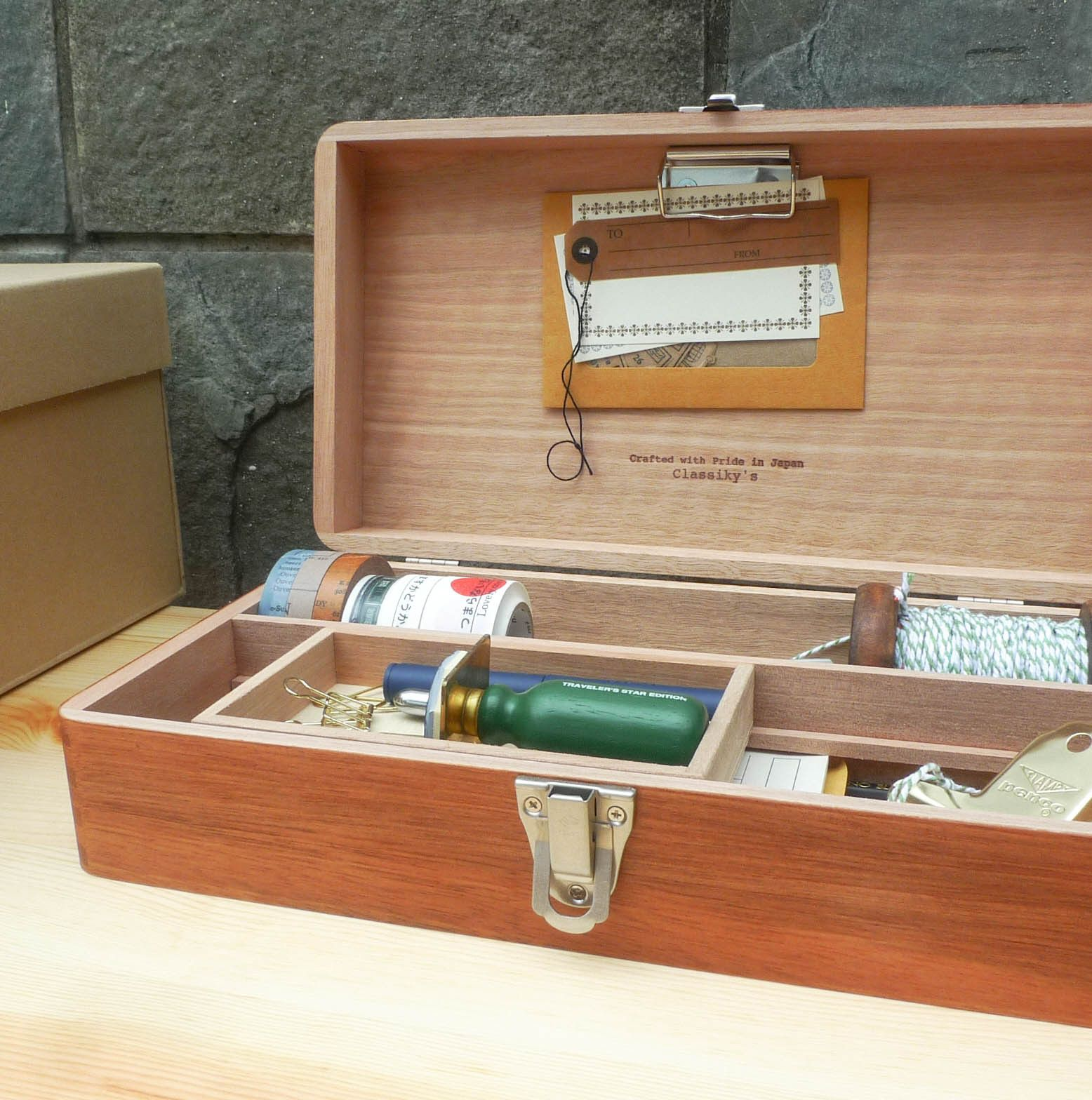 Classiky Desk Tool Box Size Standard The Art Of Correspondence