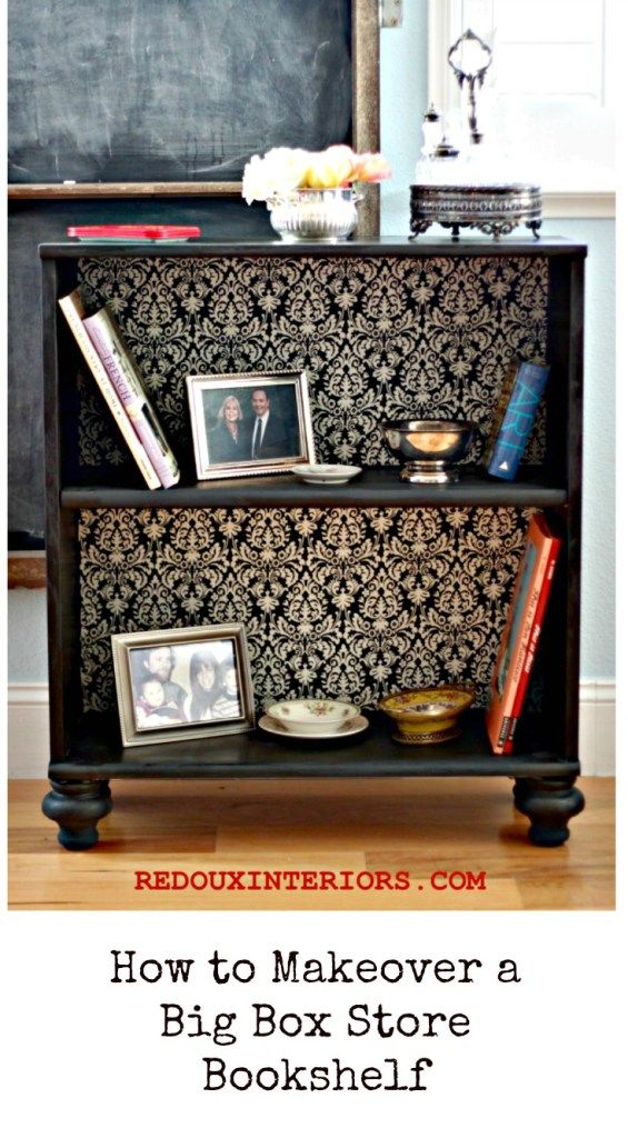 The Best Diy S Upcycled Furniture Projects And Tutorials By Redoux Painted Repurposing Upcycling Take An Old Stock Bookshelf Transform It