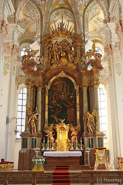 Peterskirche Munich Church Interior Church Pictures Baroque Architecture