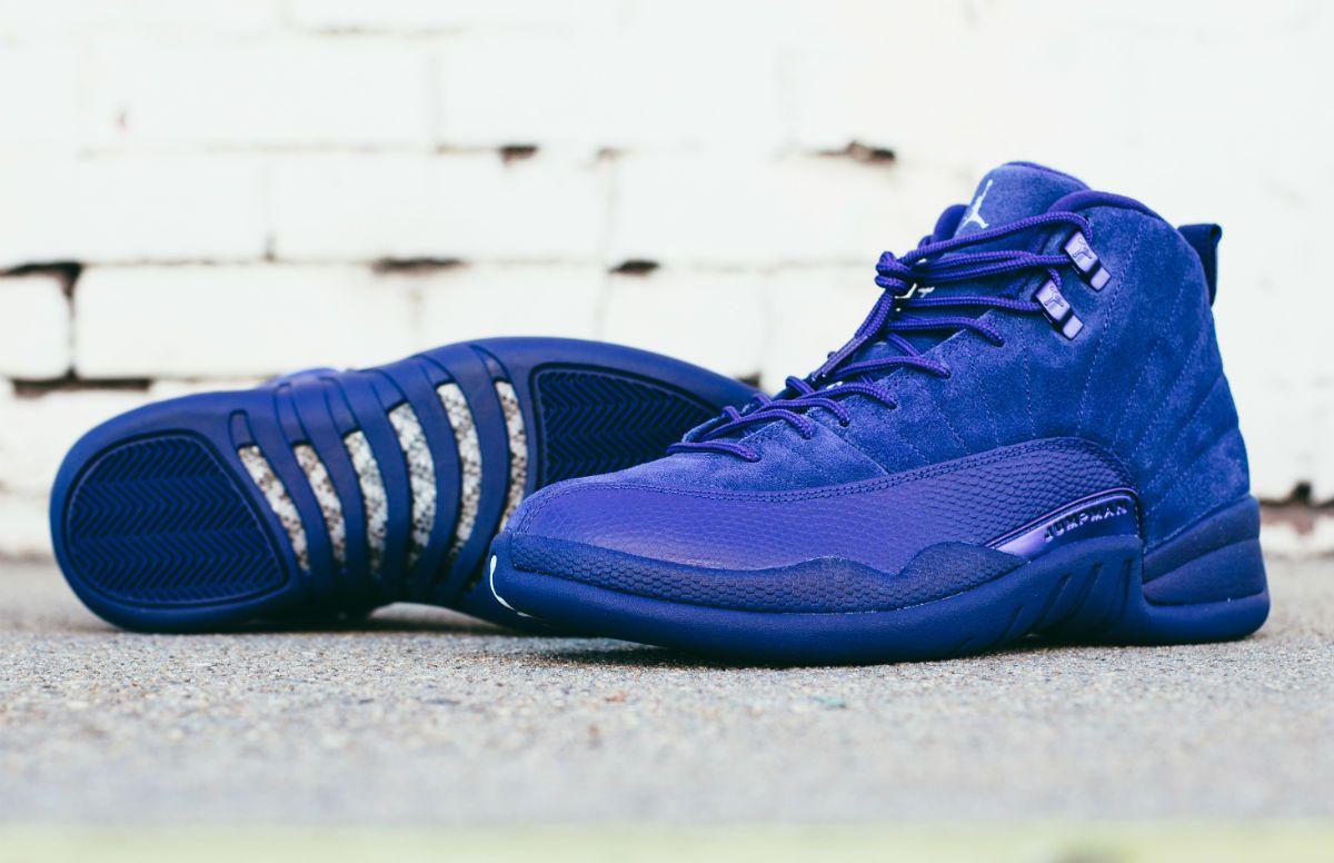e3382283abf25 Nike Air Jordan 12 Retro (130690-400) PREMIUM CRAFTSMANSHIP Deep Royal Blue  New