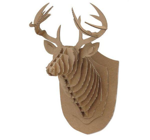 Crembo CardBoard Deer Head