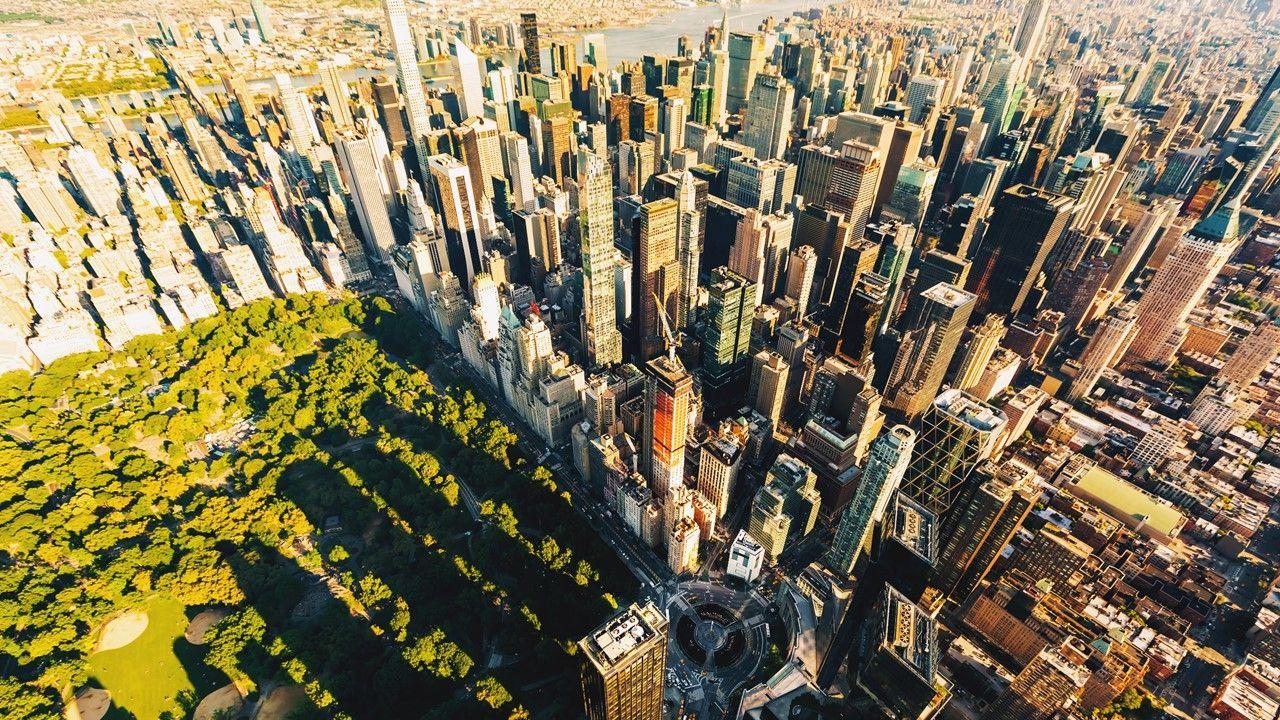 Top 5 Skyscraper Cities City, Street trees, Skyscraper