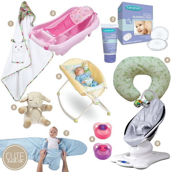 must have baby items, baby registry, newborn must haves ...