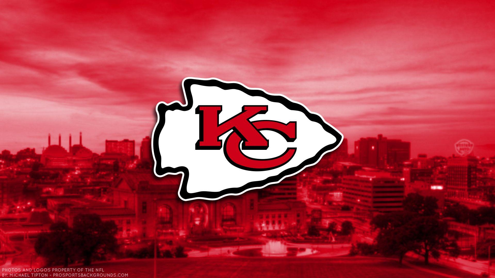Kansas City Chiefs 2017 football logo wallpaper pc desktop