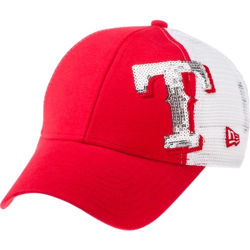 reputable site a8f5b 77cbb Image for New Era Men s Texas Rangers 9FORTY Sequin Shimmer Baseball Cap  from Academy