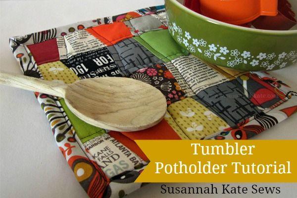 Potholder Tutorial: Holiday Hostess Series