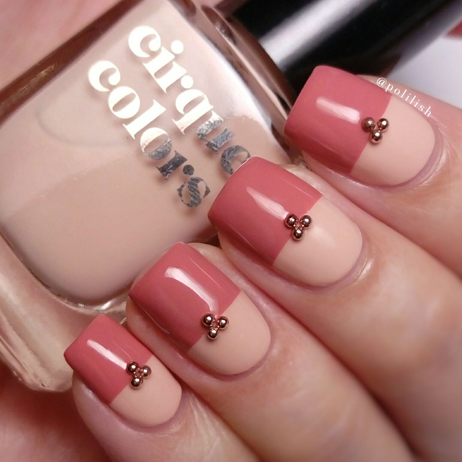 Simple Nail Art Using Nail Beads From Beautybigbang And Featuring