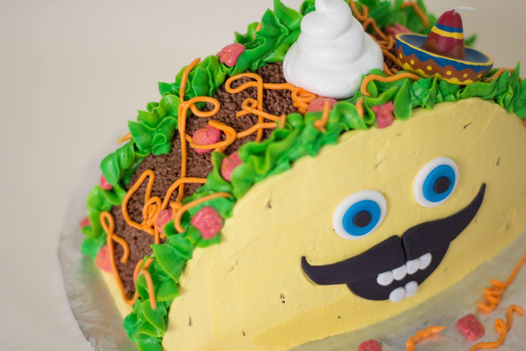 Senor Taco Bout It Smash Cake In 2019 Grace Ful Cakes