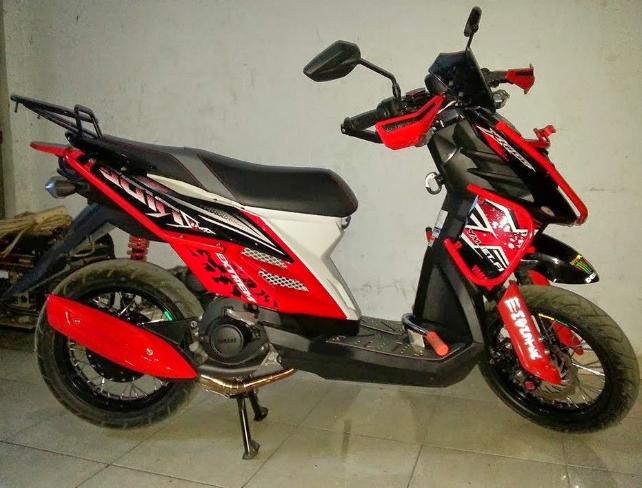 Galeri Foto Modifikasi Yamaha X Ride Touring Paling Gahar Terbaru