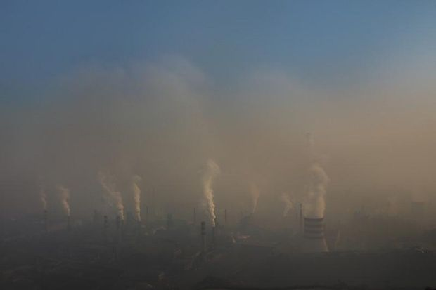 The perils of pollution in the country of china