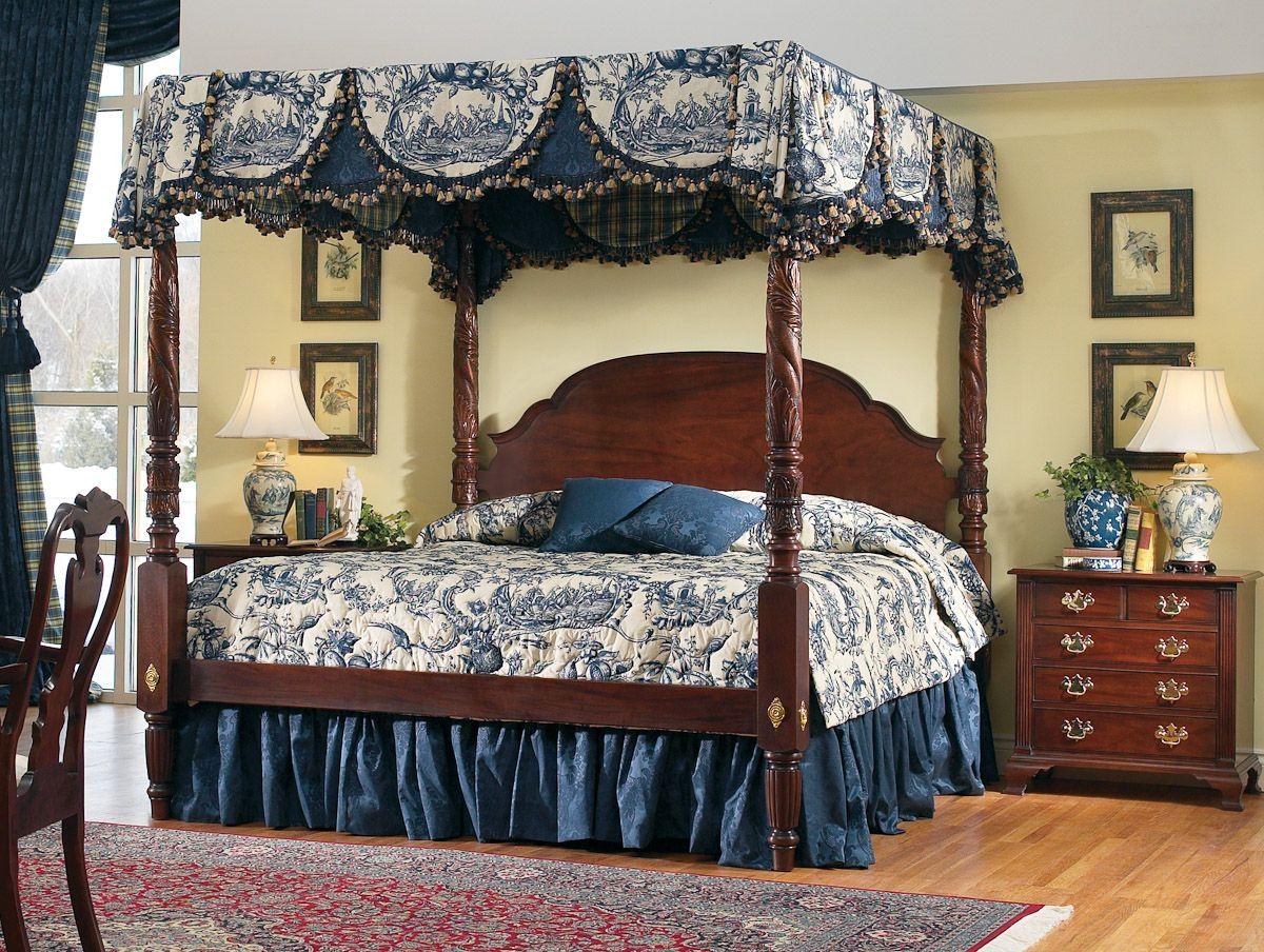 Stickley Colonial Williamsburg Bed #bedroom