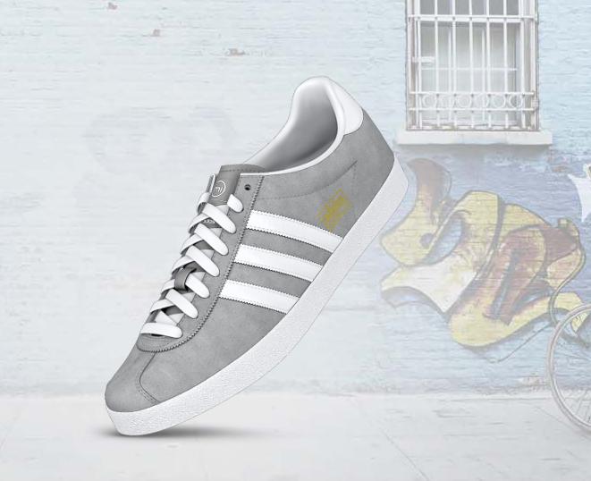 online store 4ecda c2202 Adidas - mi Gazelle OG - Suede Leather Mid Grey 3rd Wedding Anniversary,  Suede Leather