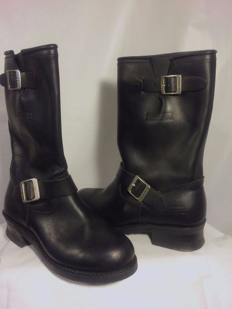 Motorcycle Biker Black Boots Ladies Size: 9 | Bikerboots, Lady and ...