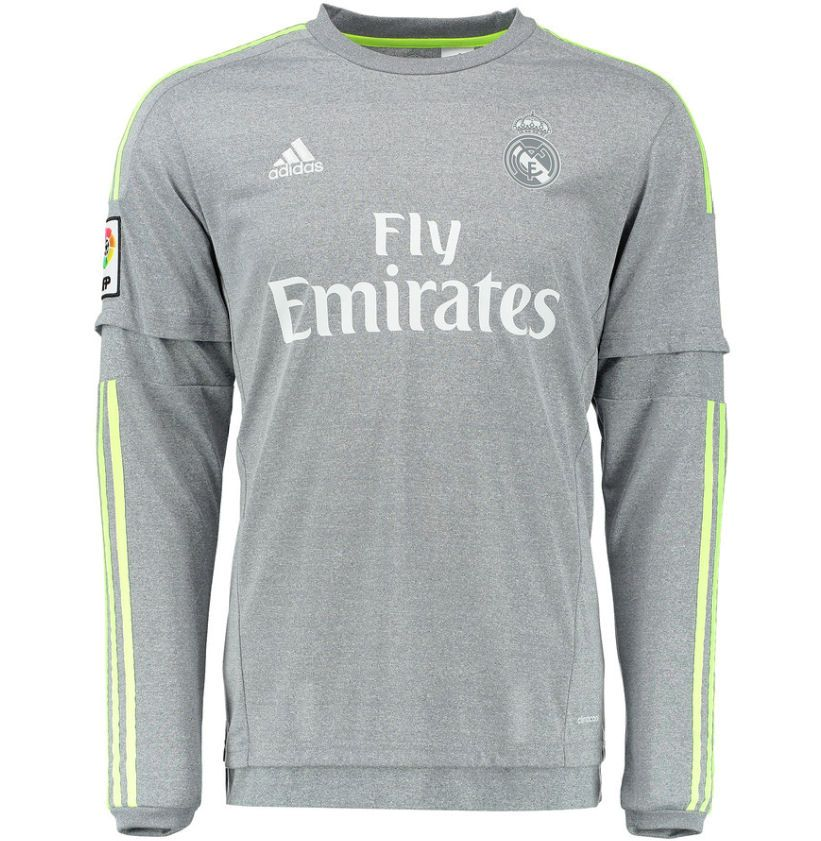 release date 9d1fe 0f33c real madrid third kit long sleeve