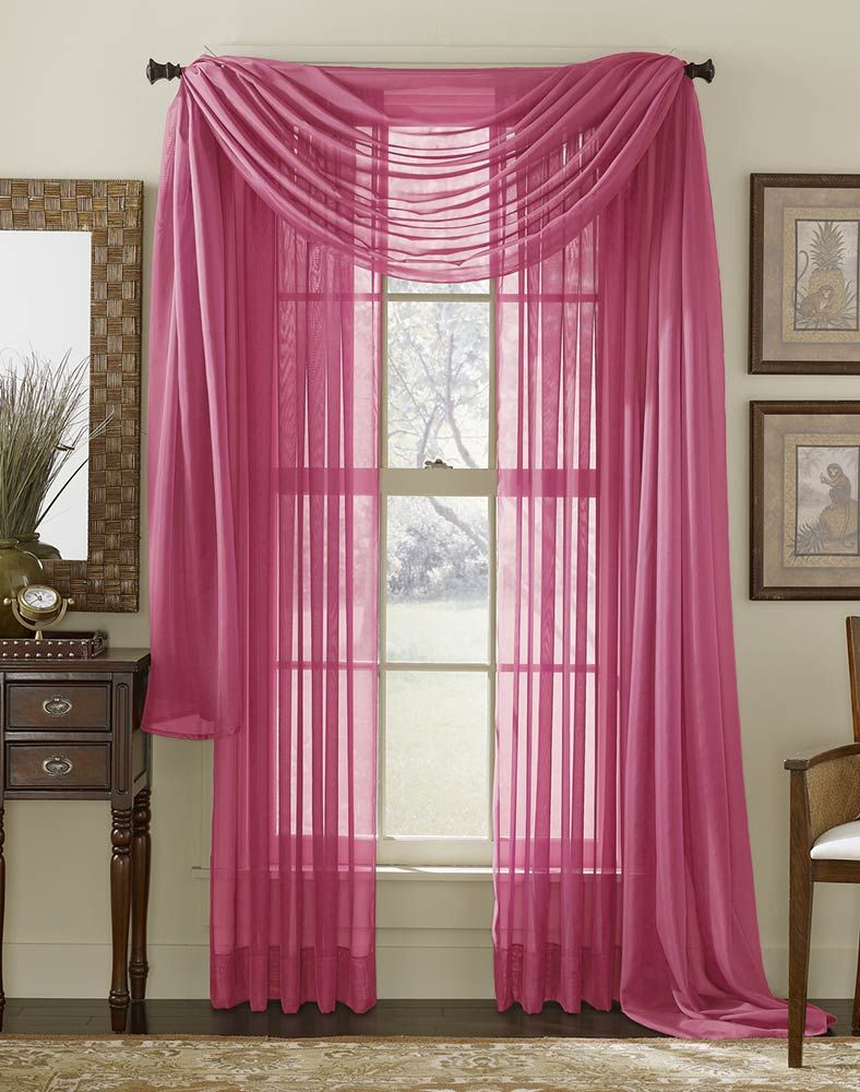 Curtain curtain designing curtain manufacturing fancy curtains - Sheer Curtains Platinum Voile Sheer Curtain Panel Clearance