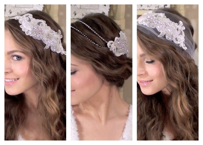 DIY 3 Boho Bridal Hair Accessories ✄
