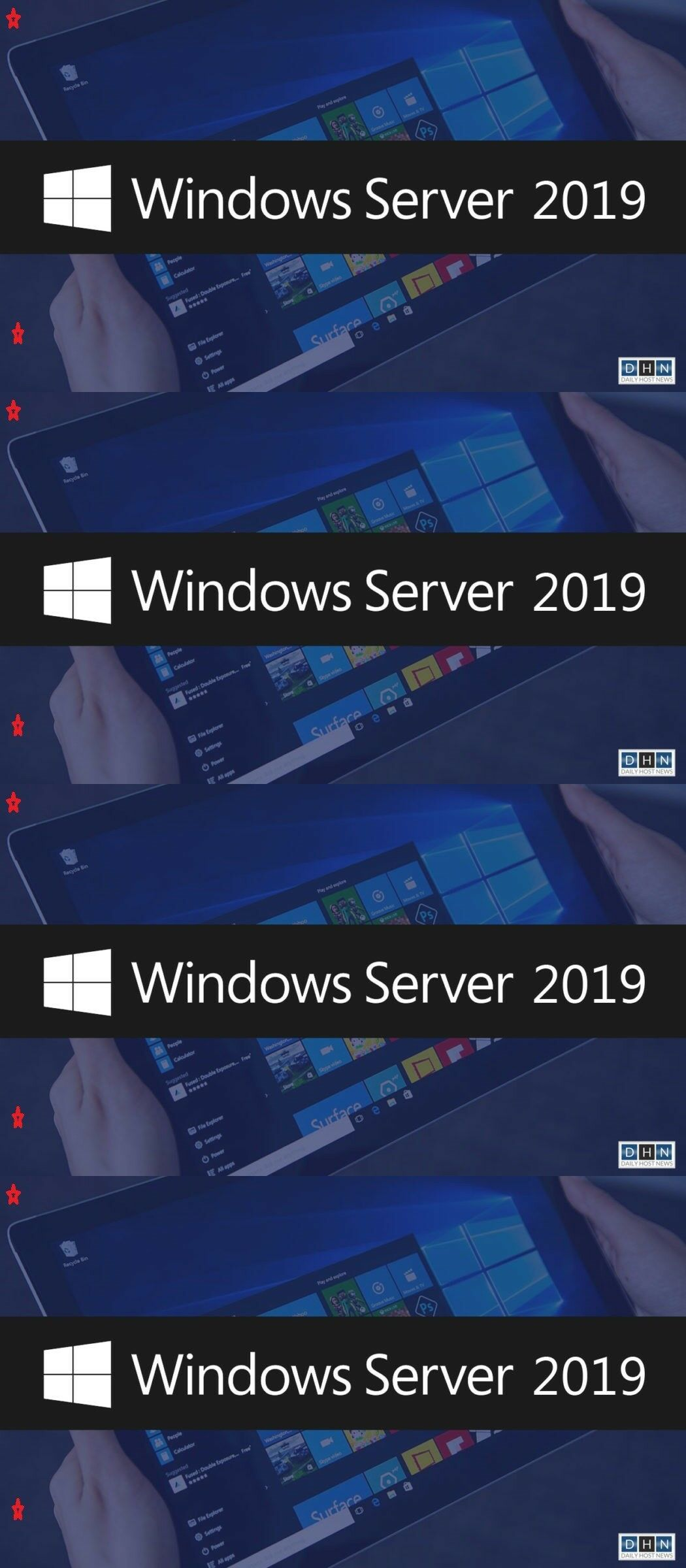 Servers Development and DBMS 80356: Windows Server 2019 Rds Remote