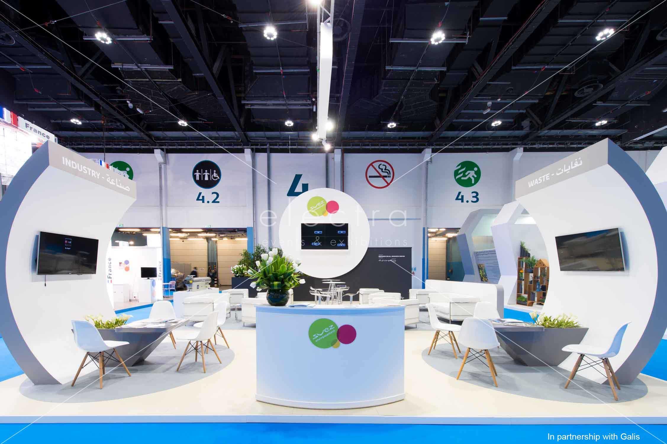 Exhibition Stand Builders France : Exhibition stand contractor in dubai exhibition stand design