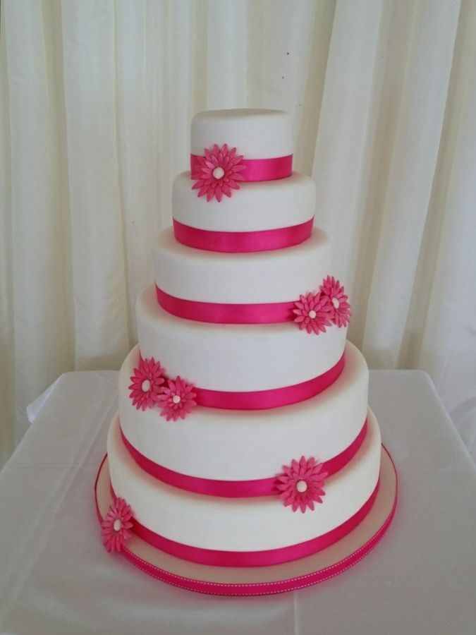 lime green and hot pink wedding cakes pink gerbera wedding cake alternate pink and lime 16896