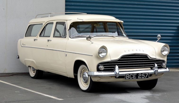 1957 Ford Zephyr Mark Ii Station Wagon Ford Classic Cars Ford