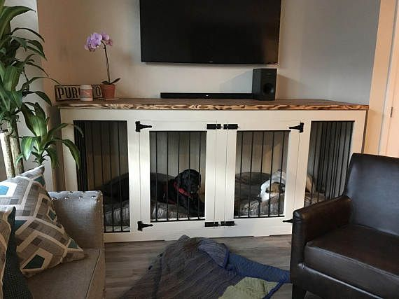 Dog Kennel House Indoor Wood Custom Kennels