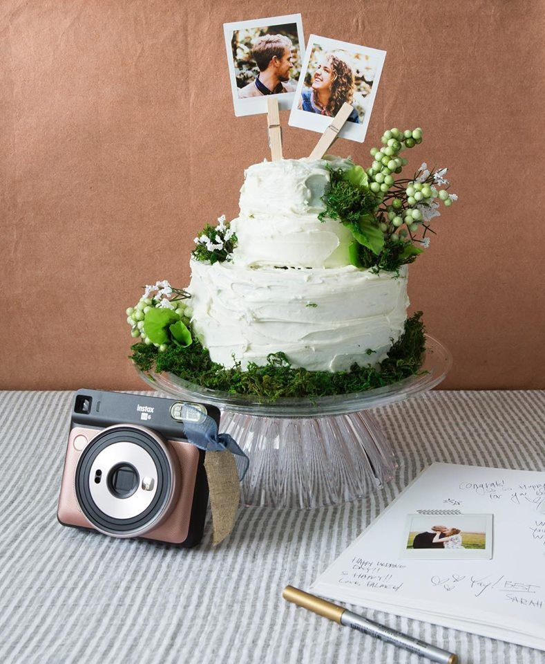 Diy Instax Wedding Cake Topper Wedding Cake Toppers Beautiful