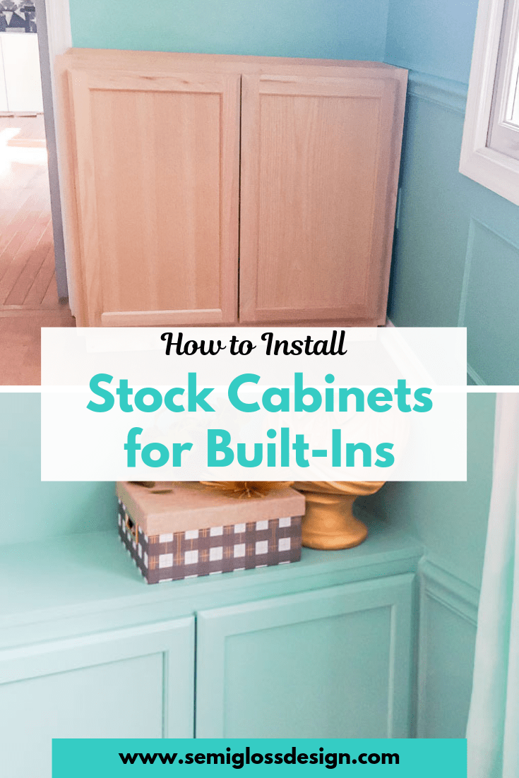 How To Install Cabinets For Built Ins Part One Diy Built In Cabinets Diy Kitchen Cabinets Build Installing Cabinets Stock Cabinets