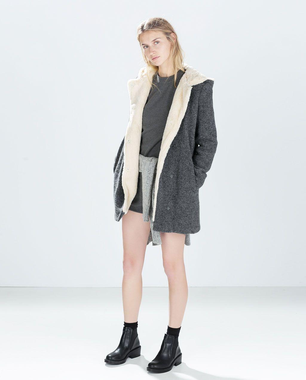 Acheter Acheter Acheter Femme Trois Veste Zara Fourrée Quarts Choses Choses Choses Choses À P47w0q