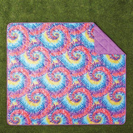 Home Outdoor Blanket Traveling By Yourself Tye Dye