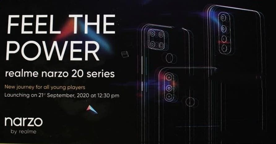 Realme Narzo 20 Series Is Coming On 24th This Month Small Or Big Upgrade Let S Wait And See Realme Narzo10 Na In 2020 Samsung Galaxy Phone Phone Power Bank Phone