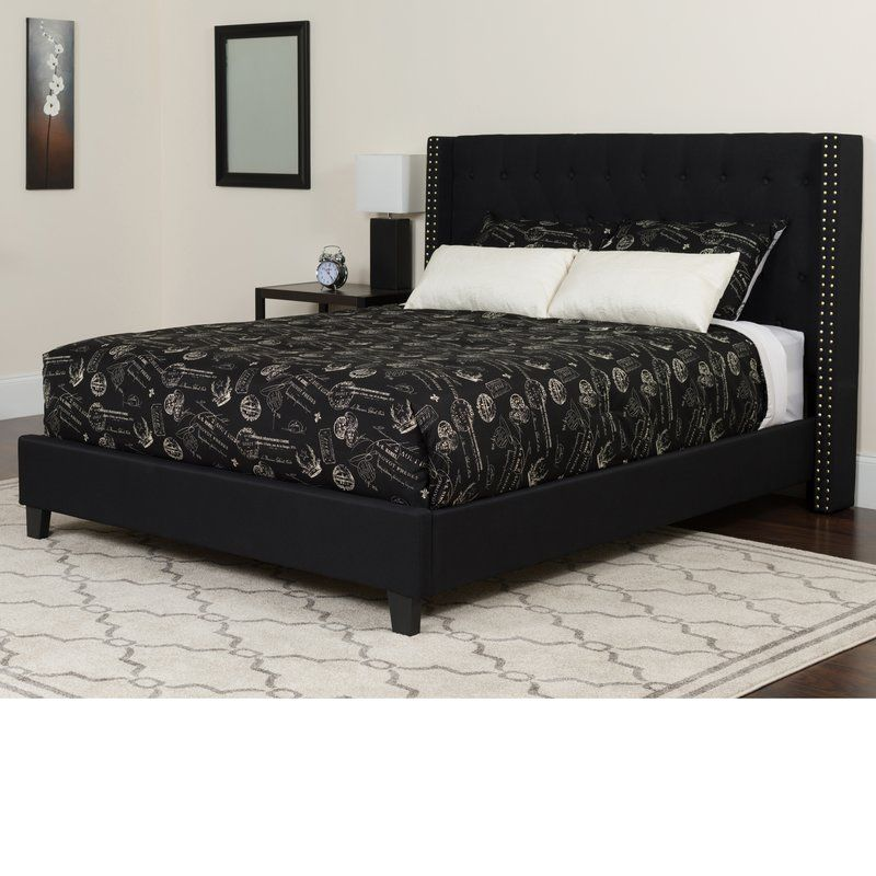 Konieczny Tufted Upholstered Platform Bed