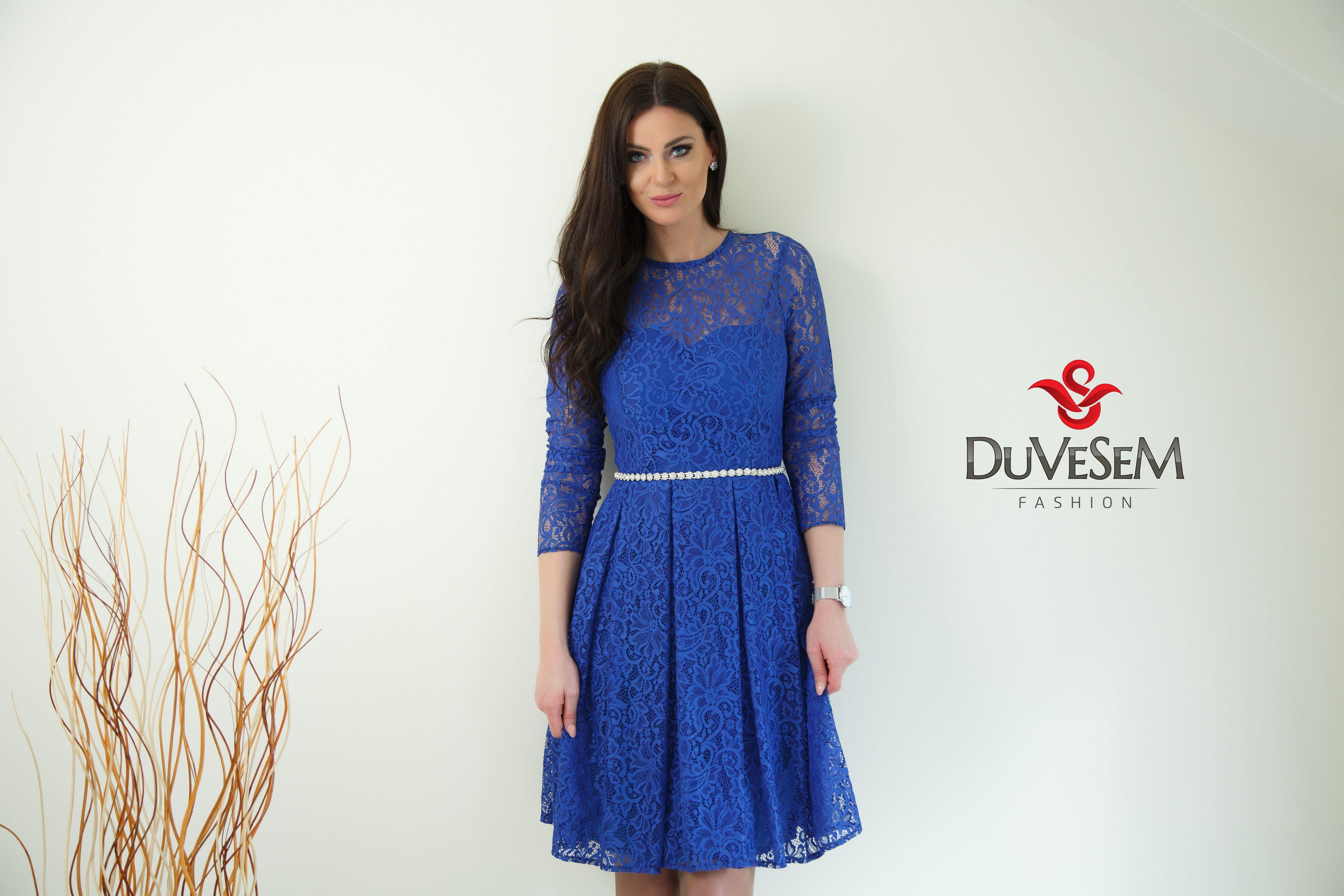 Pin by Duvesem Fashion on Kraljevsko plava haljina | Pinterest ...