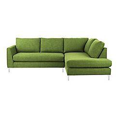 Ben de Lisi Home - Fabric 'Jakob' right-hand facing corner sofa
