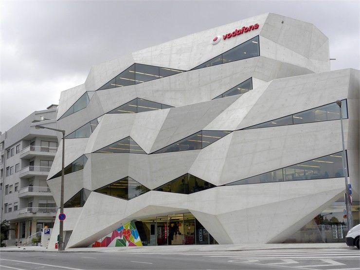 Wonderful A Porto Il Vodafone Head Office Firmato Barbosa U0026 Guimarães Home Design Ideas