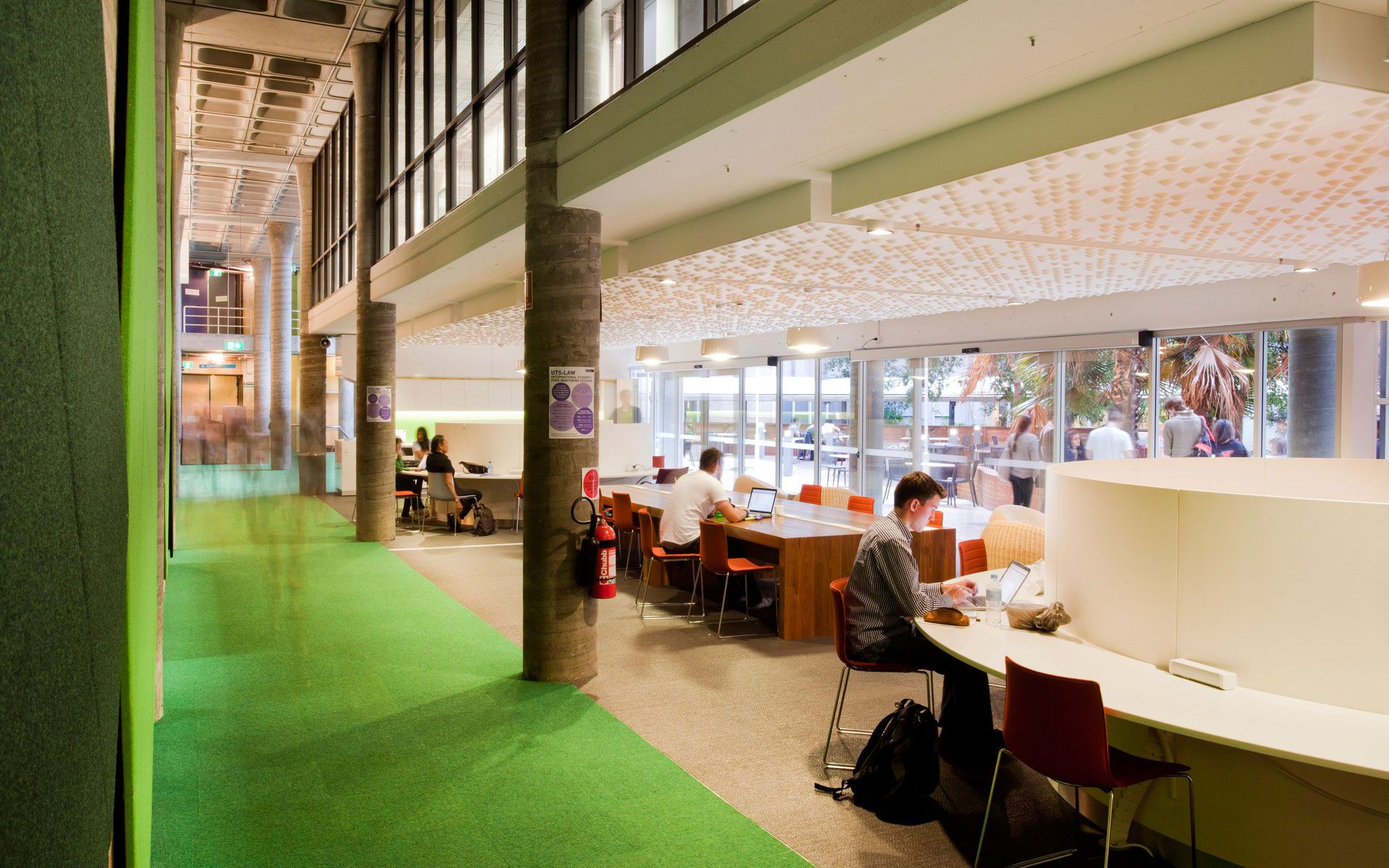 Woods Bagot Creates Study Spaces For The Modern Student At Sydneys University Of Technology