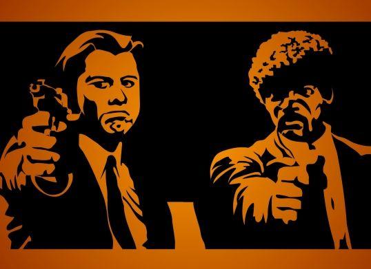 Pulp Fiction Pulp Fiction Pulp Póster De Cine